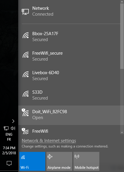 how to connect wifi to computer